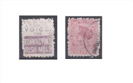 """Nouvelle Zélande Publicité """"Bonninctons Irish Moss, To Sustain The Voice Use"""" - 1855-1907 Crown Colony"""