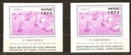 Rwanda Ruanda 1973 OCBn°  Bloc 31-31A *** MNH Cote 60,00 Euro Naples Napels - Rwanda