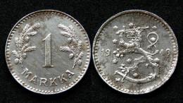 1 Markka 1949 H. Finlande/Finland. Acier/Iron - Finlande