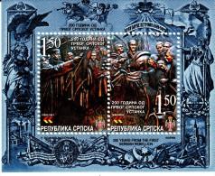 Bosnia And Herzegovina Serb Admin MNH Scott #217 Souvenir Sheet 1.50m Bicentenary 1st Serbian Rebellion - Bosnie-Herzegovine