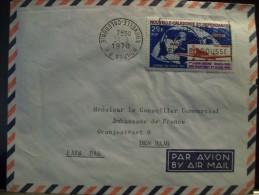 Novelle Calédonie Lettre Par Avion De Noumea à Den Haag, Pays-Bas 31-3-1970 - Briefe U. Dokumente
