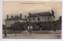 03 - AINAY LE CHATEAU - Mairie Et Ecoles - Autres Communes