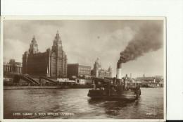 TH1175   --  LIVERPOOL   --  CUNARD  &  DOCK  OFFICES  --  SHIP, DAMPFER  --  1938 - Dampfer