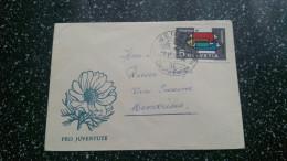 Pro Juventutebriefli Nr 57 (1956) 5 Rp Werbemarke Graphic 57 - Pro Juventute