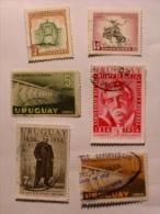URUGUAY  1954-58   LOT# 7 - Uruguay