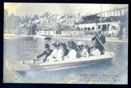 Cpa Du  75 Paris 17è Luna Park Water Chute Promenade Barque Lac Après Chute 25 M De Haut  LIOB12 - Paris (17)