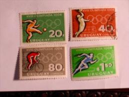 URUGUAY  1961-65   LOT# 10  OLYMPIC - Uruguay