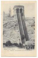 """13 - MARSEILLE - Les Ascenseurs De N.-D. De La Garde - Ed. E. Lacour N° 14 - Cpa """"précurseur"""" - Notre-Dame De La Garde, Lift"""