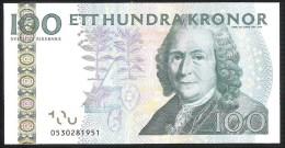 Sweden 100 Kronor 2010 P65c UNC - Suède