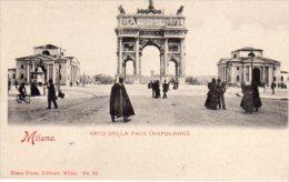 MILANO -  Arco Della Pace ( Napoleon) - Milano