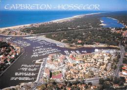 40 Capbreton Hossegor Le Nouveau Port Le Lac L'Océan Le Canal (Scan Recto Verso) - Capbreton