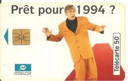 CARTE°-PUCE-PRIVEE-PUBLIC- 50U-EN757-GEMA-10/93-ESSILOR-1994-UTILISE-TBE - France