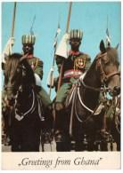 GREETINGS FROM GHANA-CAVALRY SQUADRON GHANA ARMED FORCES - 1973 - Ghana - Gold Coast