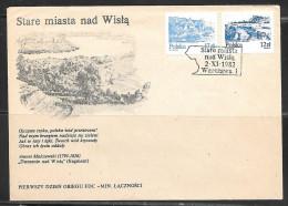 1982 Poland Stare Miasta Nad Wisla, Warszawa 2-XI-1982 - 1944-.... Republic