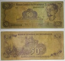 Nicaragua 50 Córdobas 1979 Pick 136 Ref 490 - Nicaragua