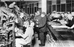 Le PETIT JOURNAL Service De La Clicherie De L´Imprimerie Marinoni Très Animée ,ouvriers - Industrie