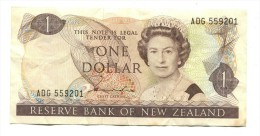 New Zealand One Dollar Banknote - Nieuw-Zeeland