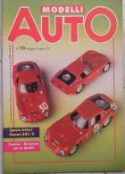 MODELLI AUTO - N.10 - MAGGIO/GIUGNO 1995 - Magazines