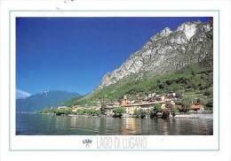 Italy Cima (Como) Frazione Di Porlezza Lago Di Lugano Lake General View - Sin Clasificación