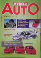 MODELLI AUTO - N.24 - SETTEMBRE/OTTOBRE 1997 - LOTUS 49 F1 - Magazines