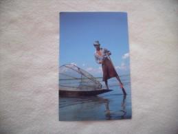 PECHEUR...INLE LAKE ..LEG ROWER..PECHEUR - Tailandia