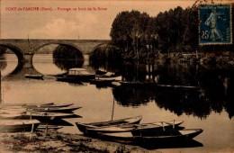 27-PONT DE L'ARCHE...PAYSAGE AU BORD DE LA SEINE..CPA - Pont-de-l'Arche