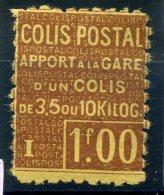 FRANCE COLIS POSTAUX 1926 N° YVERT 48 NEUF AVEC CHARNIERE - Ongebruikt