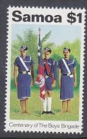 SAMOA, 1983 BOYS BRIGADE 1 MNH - Samoa