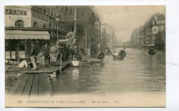 CPA  75 : PARIS  Inondations 1910  Rue De Lyon        A  VOIR  !!!!!!! - Paris Flood, 1910