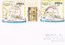 BR 1101 BRIEF TONGA  ZIE SCAN - Tonga (1970-...)