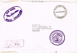 BR 1107 BRIEF TONGA  ZIE SCANS - Tonga (1970-...)