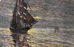 [DC2670] CPA - VELIERO - PINO - IL NOSTRO MARE III - Non Viaggiata 1918 - Old Postcard - Sailing Vessels