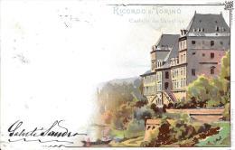 [DC2671] CPA - TORINO - RICORDO - CASTELLO DEL VALENTINO - Viaggiata - Old Postcard - Castello Del Valentino