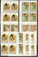 1979 San Marino  Saint Marin NATALE CHRISTMAS 13 Serie 4v.: 3 Quartine+1 MNH** - Natale