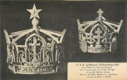 49 N D De Behuard, Fêtes Du Couronnement, Couronnes De La Ste Vierge Et De Jésus, Oeuvre De Mellerio, Joalliers - France