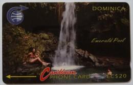 DOMINICA - GPT - 3CDMB - $20 - Used - Dominica