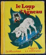 Les Fables De La Fontaine - Le Loup Et L'agneau - Les Albums Roses - ( 1961 ) . - Bücher, Zeitschriften, Comics