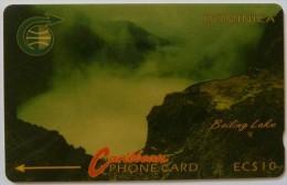 DOMINICA - GPT - 4CDMA - $10 - D5 - Different Colour - Used - Dominica