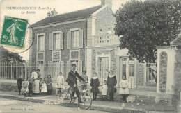 "CPA FRANCE 91 ""Courcouronnes, La Mairie"" - Sonstige Gemeinden"