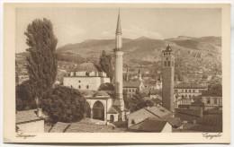 SARAJEVO -  Bosnia And Herzegovina, Mosque, Old Postcard - Bosnia And Herzegovina