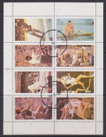 Iso / Swedish Local 1976 Olympic Games 8v In Sheetlet Used (F5133) - Fantasie Vignetten