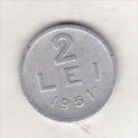 Romania 2 Lei 1951 - Rumänien
