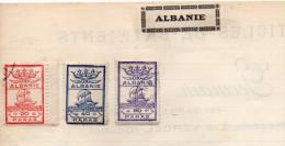 Albanie. Vieille Collection - Timbres à Identifier (?) - Albanië