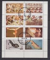 Nagaland 1976 Olympic Games 8v In Sheetlet Used (F5137) - Fantasie Vignetten