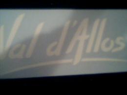 "Auto Collant ""Val D'Allos"" - Autocollants"