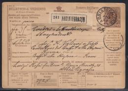 DA ABBIATEGRASSO A ROMA - 7.6.1896. - 1878-00 Umberto I