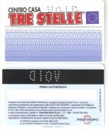 Italy-Centro Casa Tre Stelle - Geldkarten (Ablauf Min. 10 Jahre)