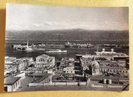 Messina Panorama Viaggiata Anni 50 Fg - Messina