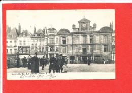 59 LILLE Cpa  Animée La Grand ' Garde           14 F L - Lille