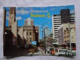 Australia Brisbane Adelaide Street Showing The City Plaza And City Hall  A100 - Brisbane